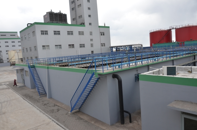 Longkou Xiang Chi Cereals and Oils Co., Ltd. Sewage treatment works